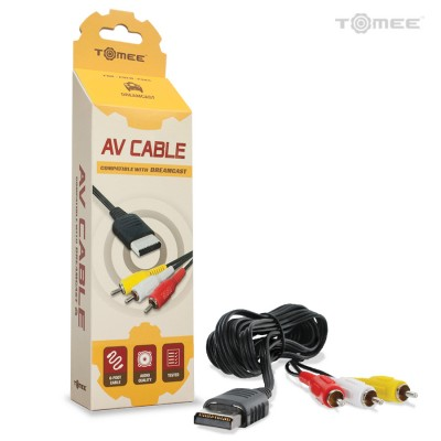 DC: AV CABLE - GENERIC - (R/Y/W) (NEW)